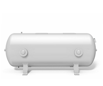 Vacuum vessel -1 bar horizontal