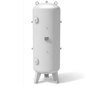 Vacuum vessel -1 bar vertical