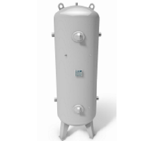 High pressure vessel 23 to 41 bar vertical
