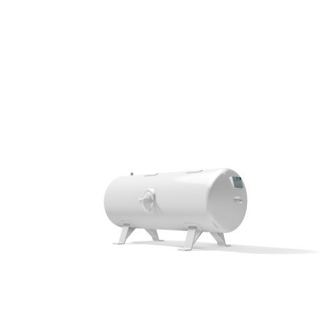 Pressure vessel 250 litre horizontal 16 bar