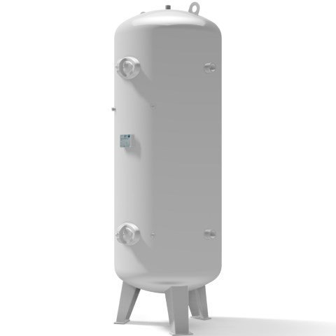 Pressure vessel 1.000 litre vertical 11 bar