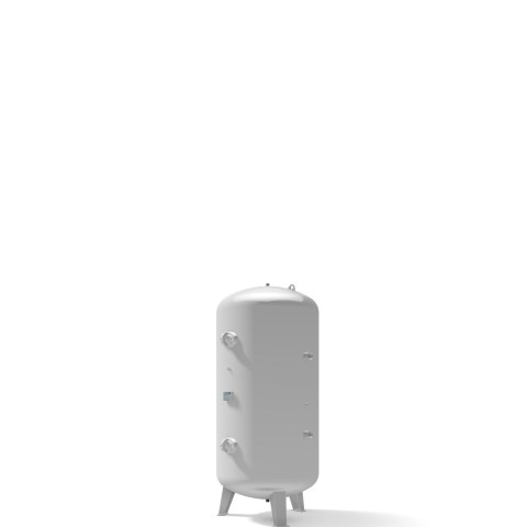 Pressure vessel 2.000 litre vertical 11 bar