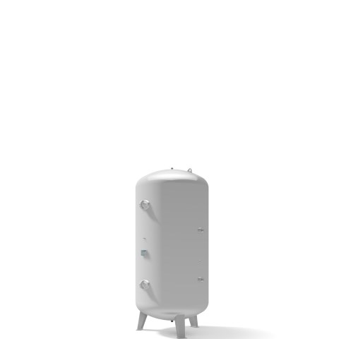 Pressure vessel 3.000 litre vertical 11 bar
