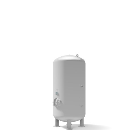 Pressure vessel 4.000 litre vertical 11 bar