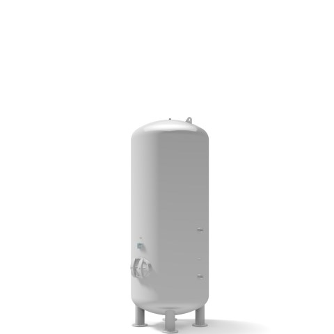 Pressure vessel 5.000 litre vertical 11 bar