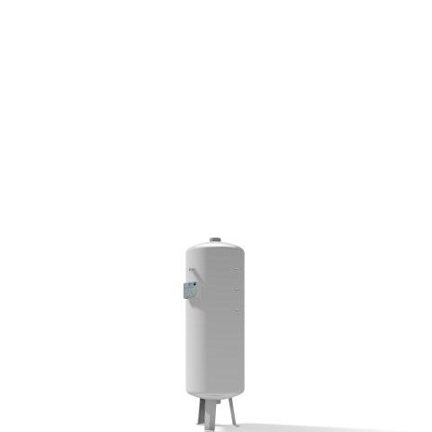 Pressure vessel 90 litre vertical 11 bar